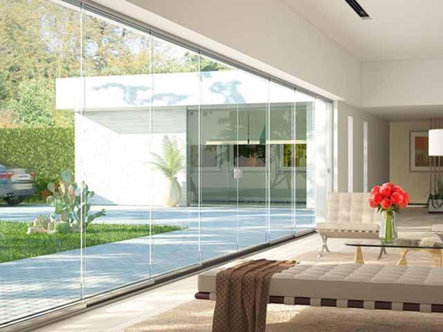 Verande e vetrate mobili