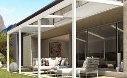 Pergolato Sunroom ampliamento casa Cesena